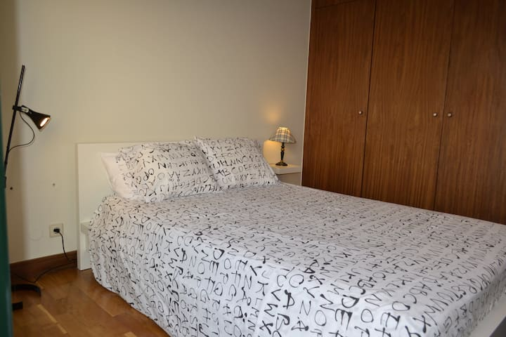 A very comfortable bed with, always, clean and fragrant sheets and pillows