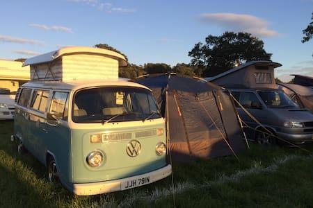 Skye The Blue Camper - Classic VW  - Stamfordham