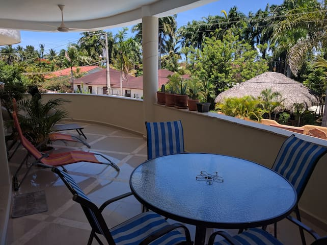 Private modern flat 1 bed room,quiet neighborhood - Cabarete - Daire