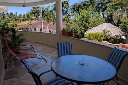 Private modern flat 1 bed room,quiet neighborhood - Cabarete