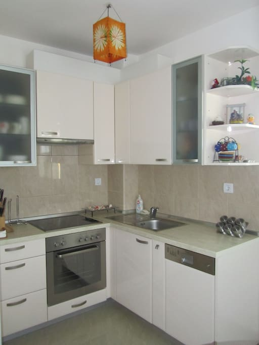 Brand new custom made kitchen with everything you need...