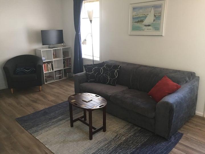 Bright, clean, private suite