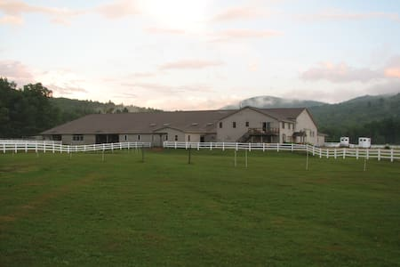 White Mountains-river valley farm - Campton