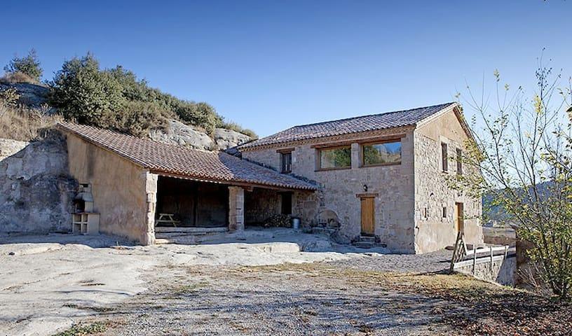 Palau del Roc - Casa Rural -1h Bcn - Santa Maria de Merlès - House