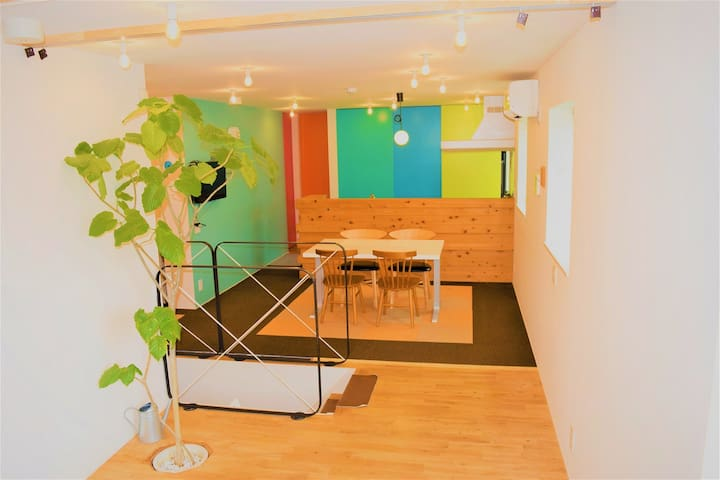 【BIG8/Family sweet】5 min walk from station 80㎡
