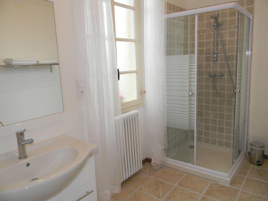 Private Bathroom (Queen Room)