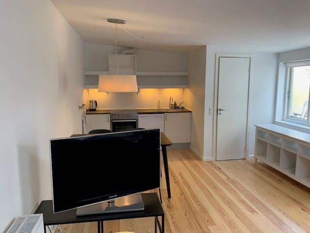 One room appartment in attractive neighborhood