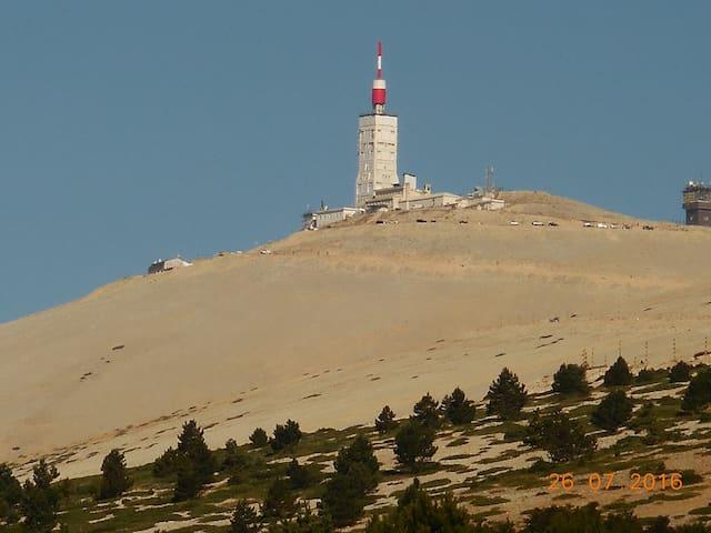 Villa pour retraités aux pieds du Mt Ventoux - Le Barroux - Willa