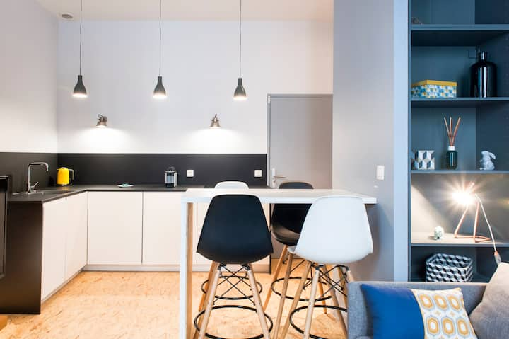 SCANDINAVE LOFT FOR FAMILY IN THE CENTER OF LYON 1