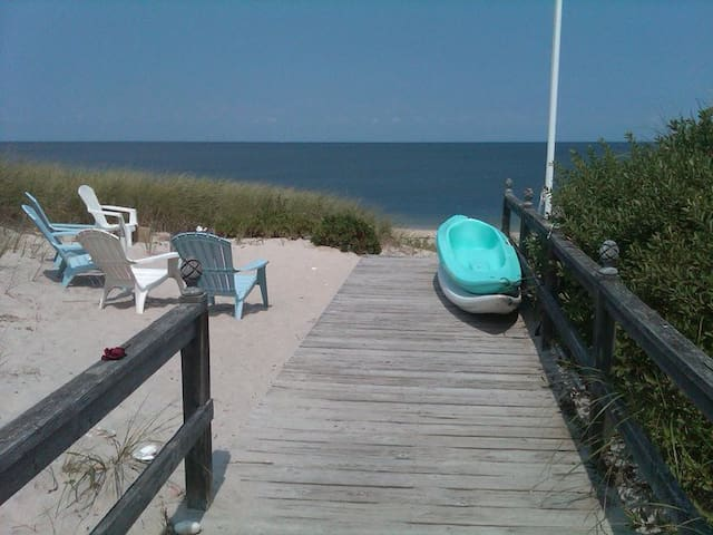4 BR Beach House 1.5 hrs from NYC 1 week 1/2 price - Wading River - Hus