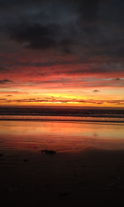 Enjoy the beautiful Del Mar sunsets.