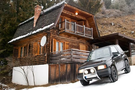 Very nice small chalet in the woods - Moieciu de Sus - Hytte (i sveitsisk stil)