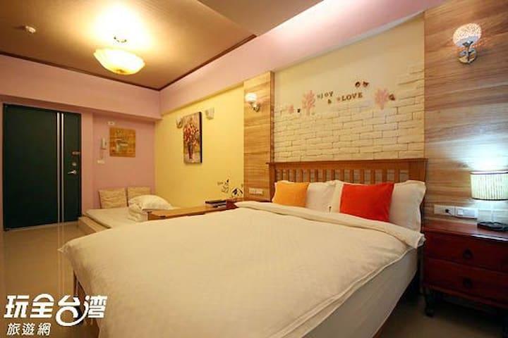 艾瑪家~鄉村溫泉房(2-3-4人) - Jiaoxi Township - Condominio