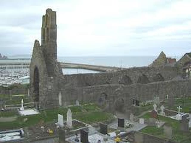 Church ruins in Howth.