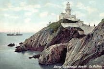 Bailey Court Lighthouse of Howth.