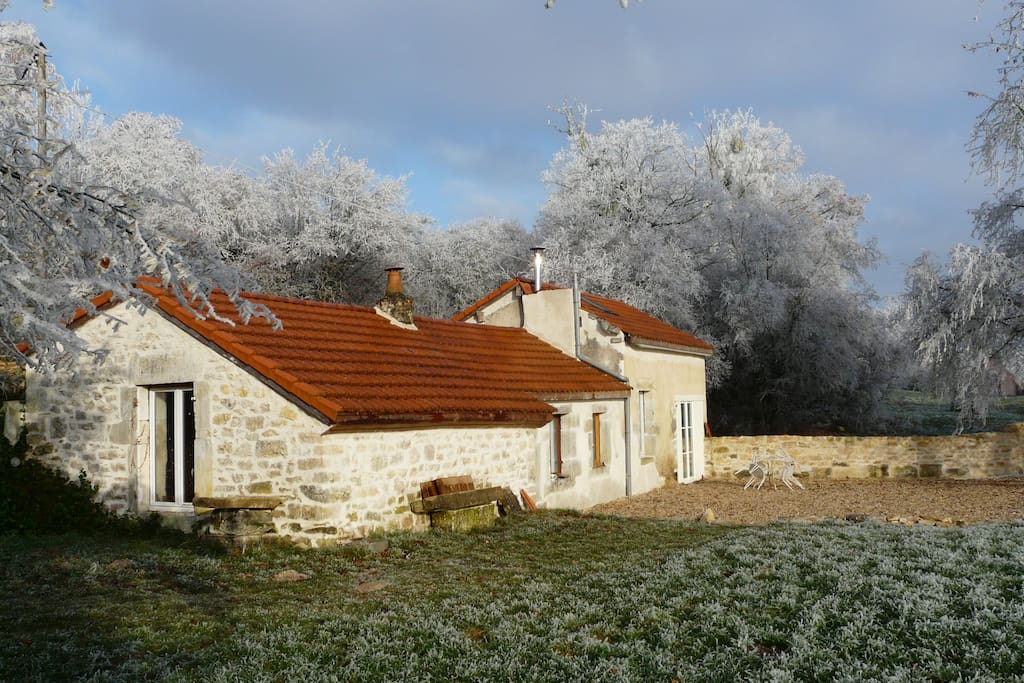 Our charming cottage (winter)