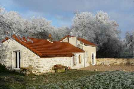 Charming Cottage 10 min from Dijon, swimming-pool - Saint-Julien