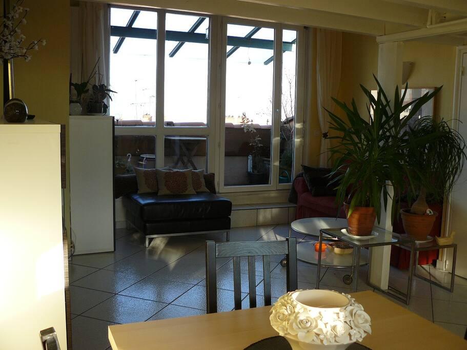 Appartement atypique croix roussien appartements louer for Atypique appartement lyon