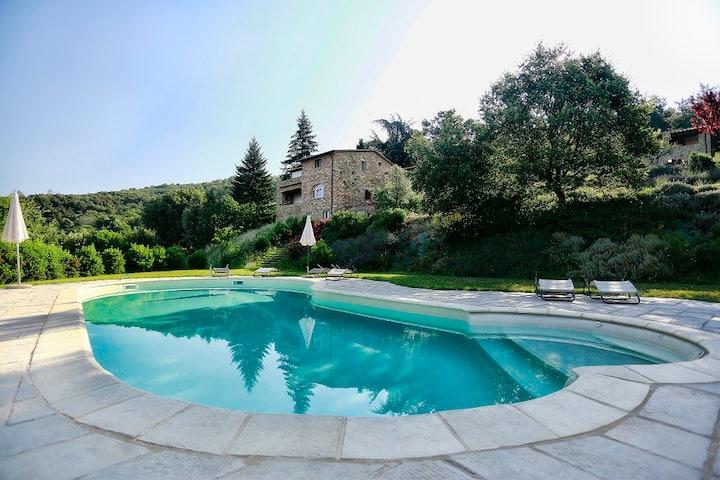 Apartament 'Girasole', terrace and super view !