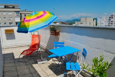 Pocket Penthouse, Terrace, View, Free WiFi
