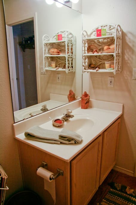 Bathroom shared with Futon Room