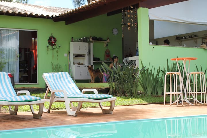 Your private space w/ a pool - Lagoa Santa - Huis