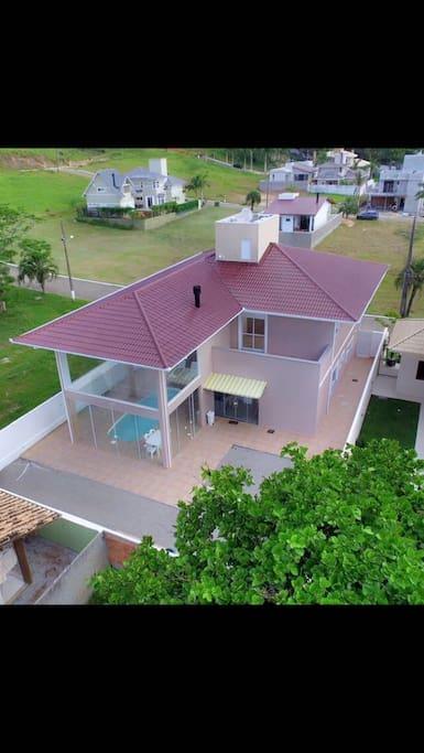 vista aérea da casa 2