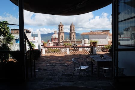 Room with a view of Santa Prisca