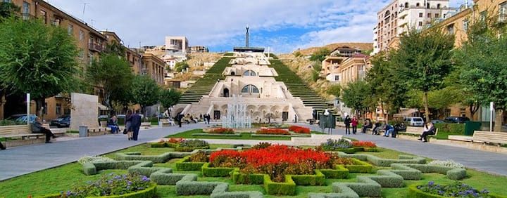 Cascade- Downtown Yerevan, Armenia