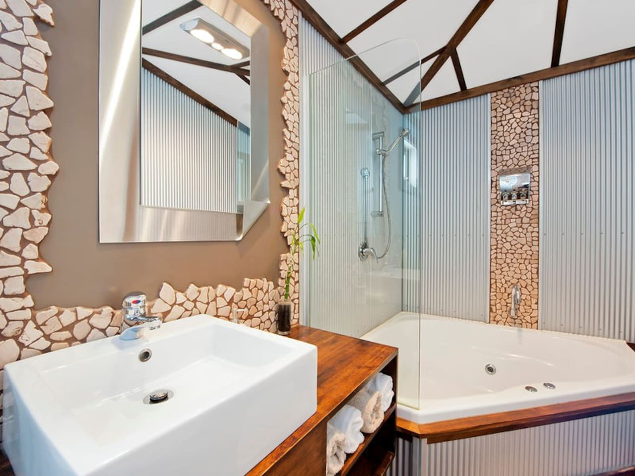 Bathroom with Large Spa
