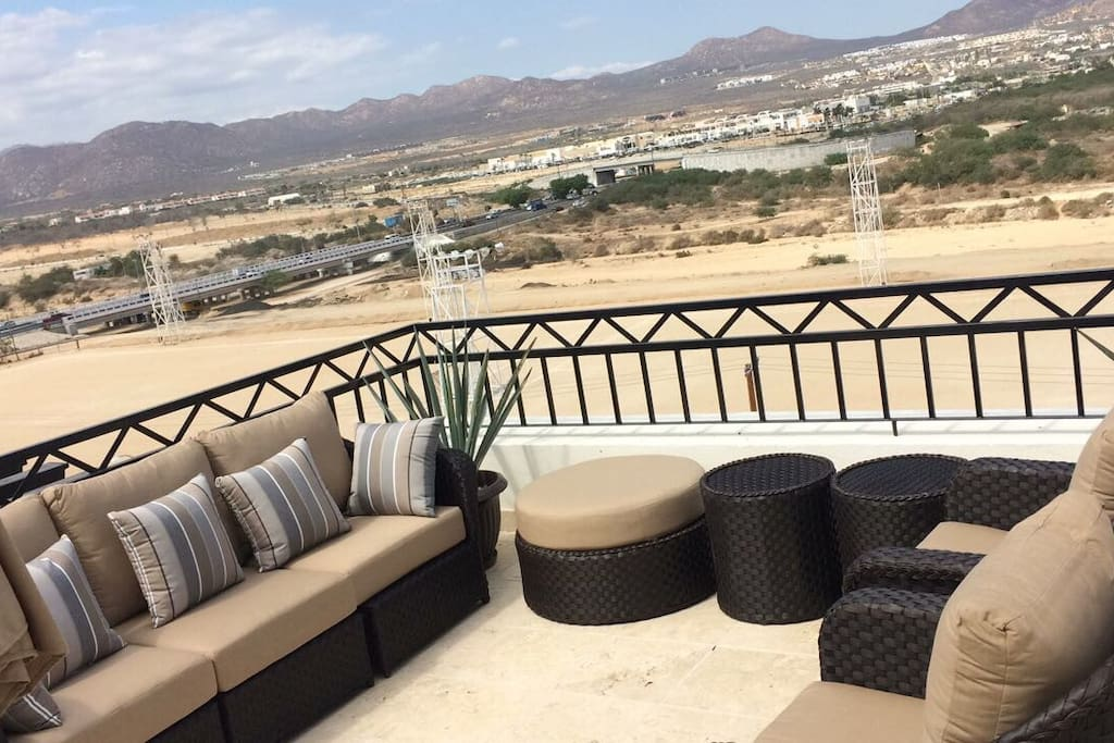 Penthouse patio furniture
