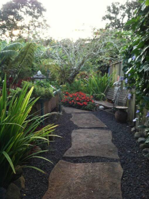 Entrance near the Secret Garden Room