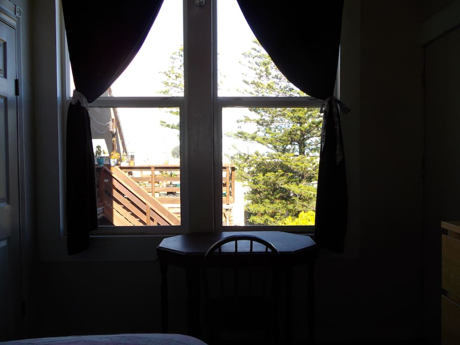 View from Guest Bed