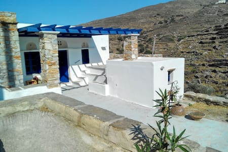 Tinos traditional rural house big outdoor space - Platia - Dom
