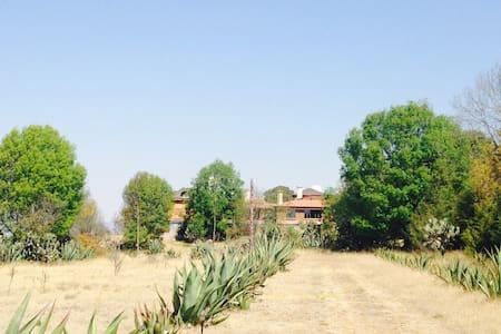 Beautiful country house / EL MAGUEY - Contepec - บ้าน
