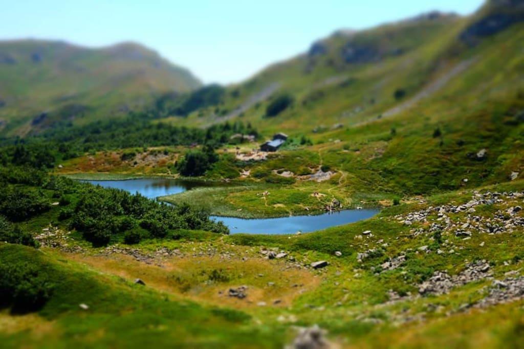 escursioni nei dintorni (lago nero)