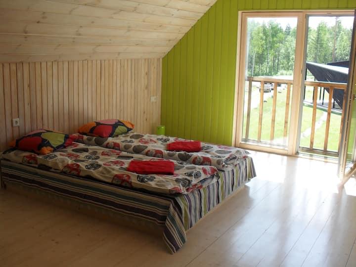 Cozy Cottage in Kõveri  Forest