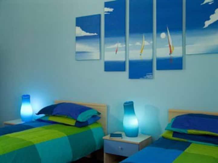 B&B i colori di Sara - camera con bagno privato