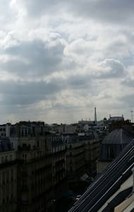 Lovely private studio at Lafayette! - Paris - Wohnung