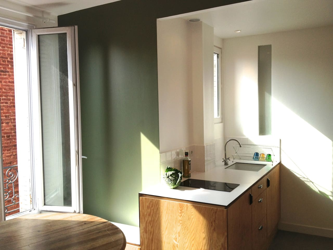 kitchen, and dining room