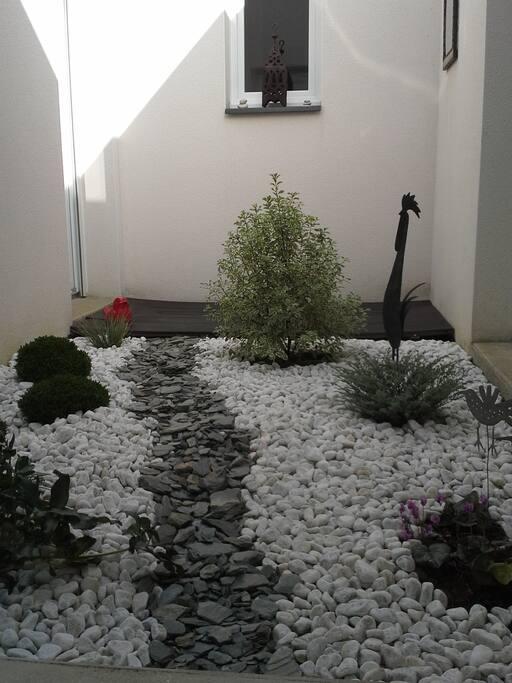 patio à ciel ouvert