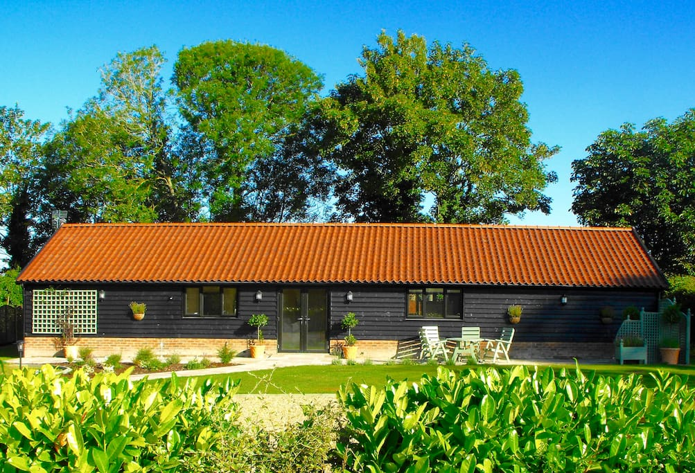 The cartlodge bungalow in affitto a suffolk inghilterra for Piani casa bungalow 4 camere da letto