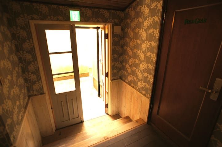 Guest room hall