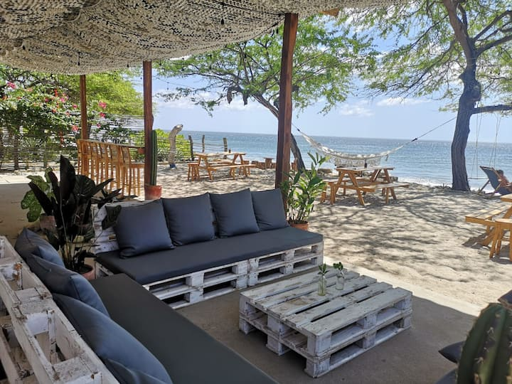 Beachfront Apartment/Fully equipped -Playa Popoyo