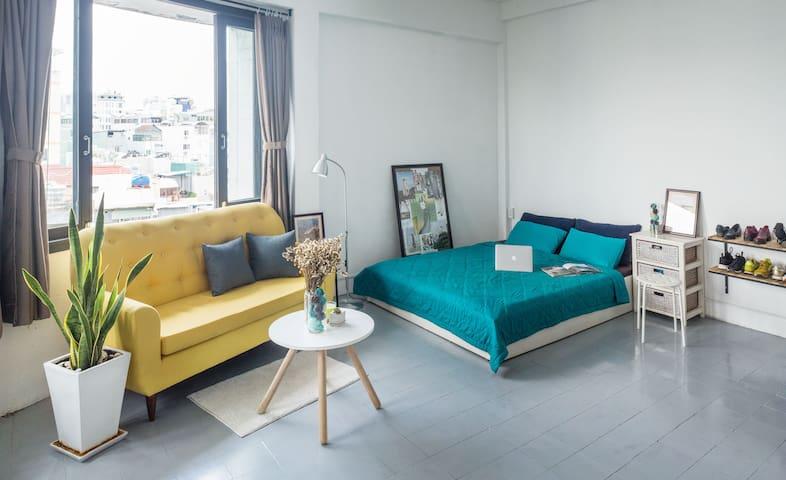 Hipster designer studio in vibrant centre - Ho Chi Minh City - Apartemen