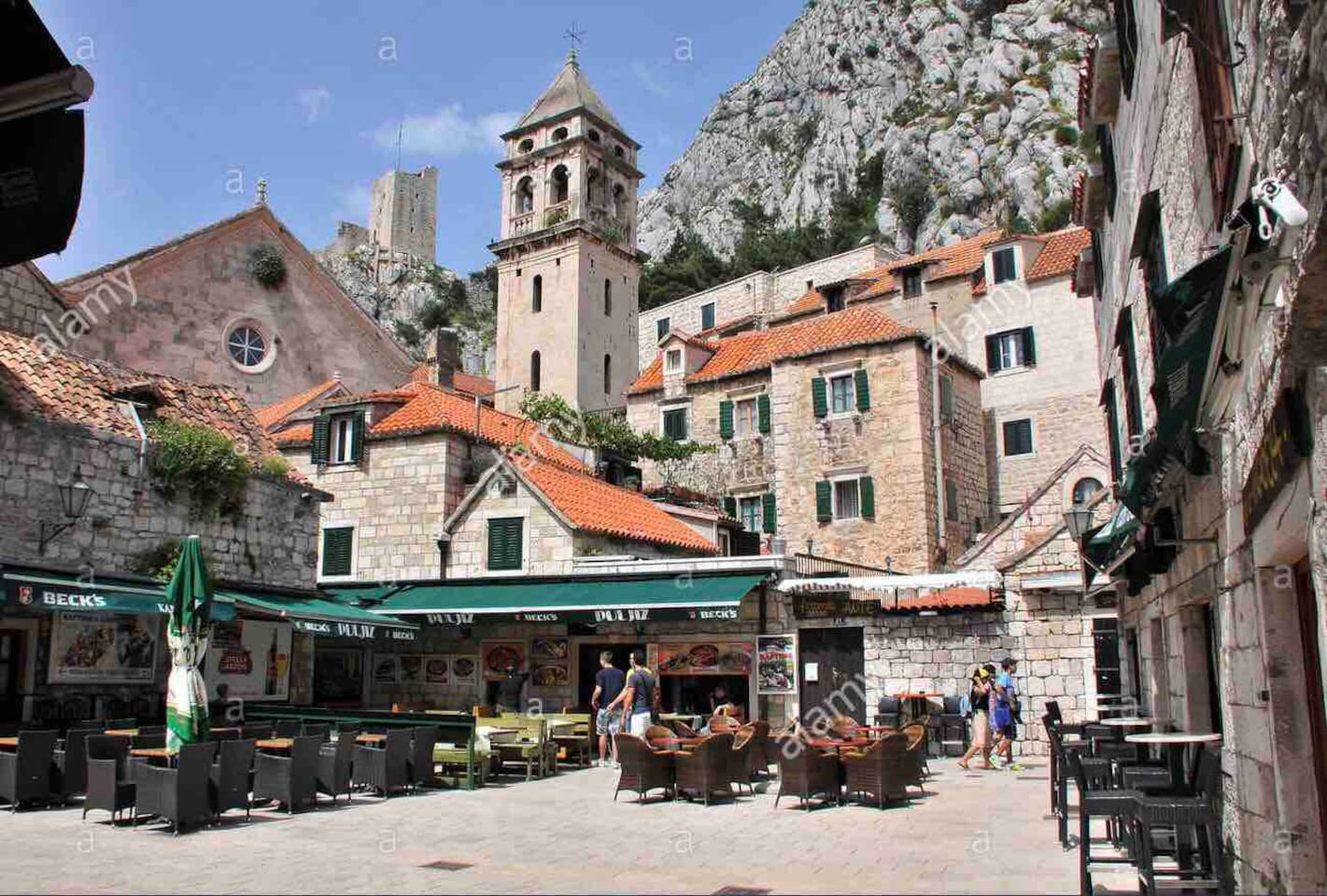 Discover Omis the medival pirate town. Popular for it's music festival. Lots of activities are waiting to be discovered.