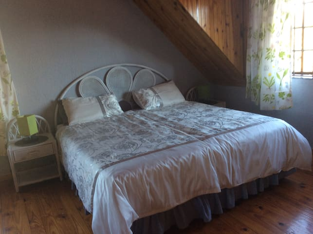 Bedroom  upstairs with en suite. There are 2 the same