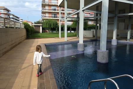 Planta baja 3 habitacion con jardin y piscina - Sant Antoni de Calonge - Apartamento