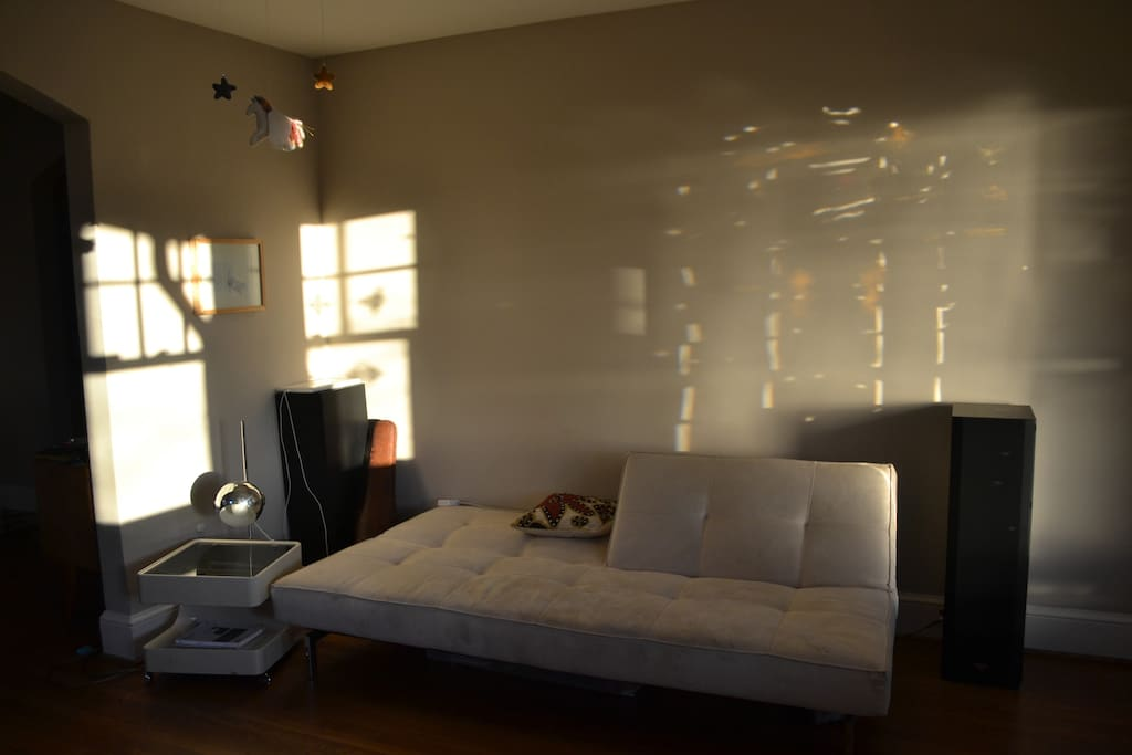 Living Room in Afternoon Sunlight