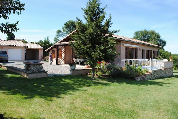 Holiday house independent Le Carret - Auzas